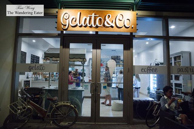 Exterior of Gelato & Co.