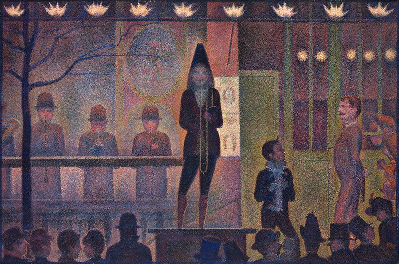 Georges Seurat - Circus Sideshow (1887-88)