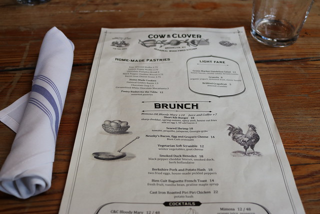 Cow & Clover Brunch