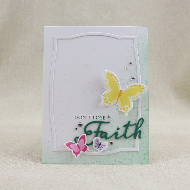 Don't Lose Faith Card