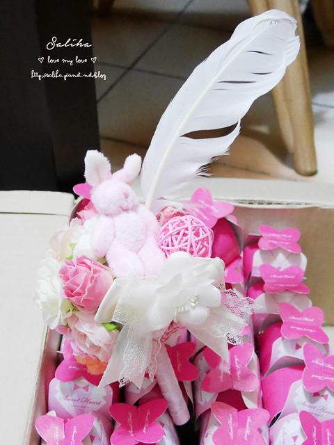 新娘可愛簽名筆DIY
