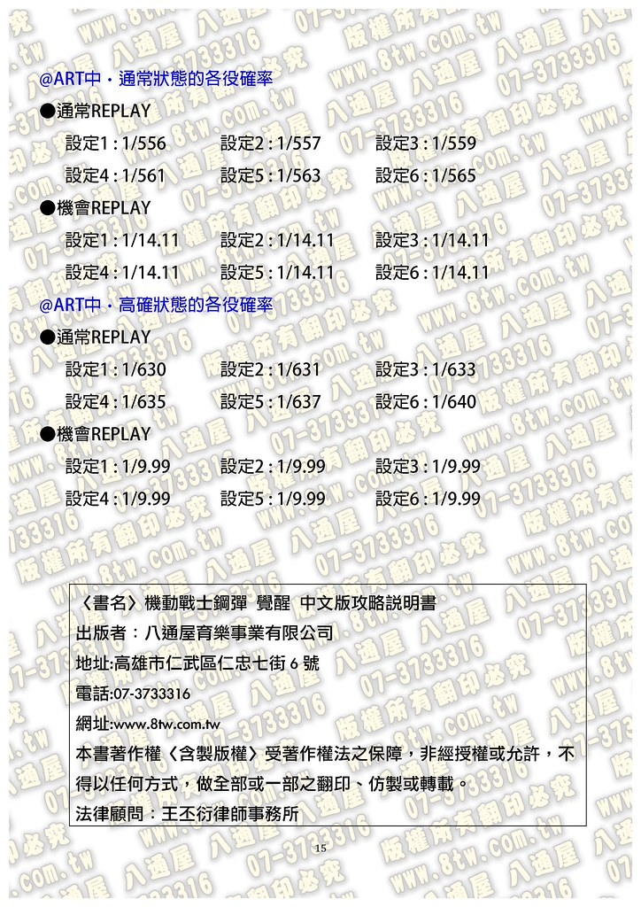 S0321機動戰士鋼彈 覺醒 中文版攻略_Page_16