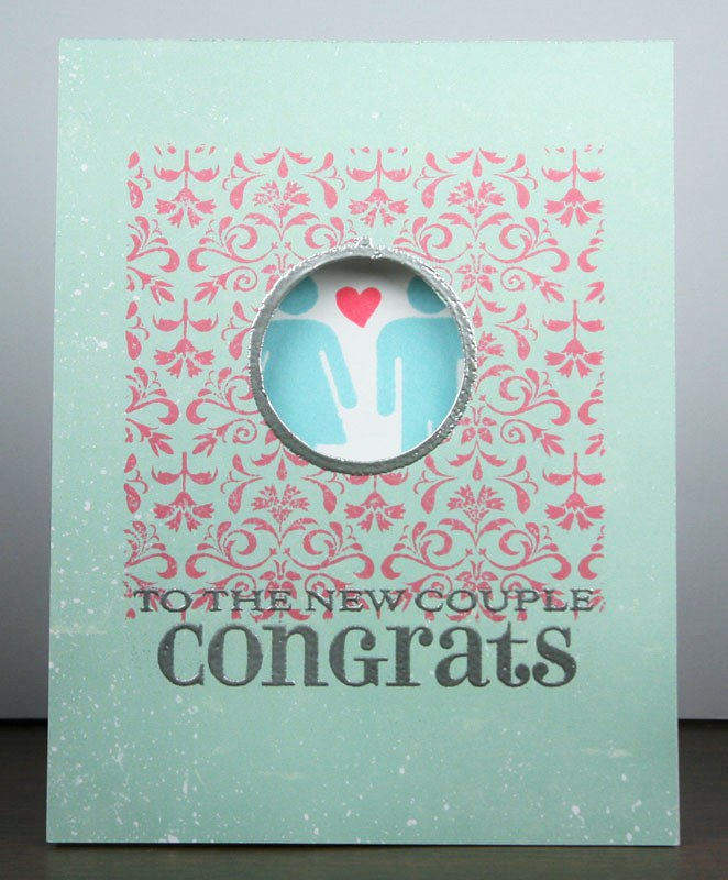 Congrats To The New Couple Card | shirley shirley bo birley Blog