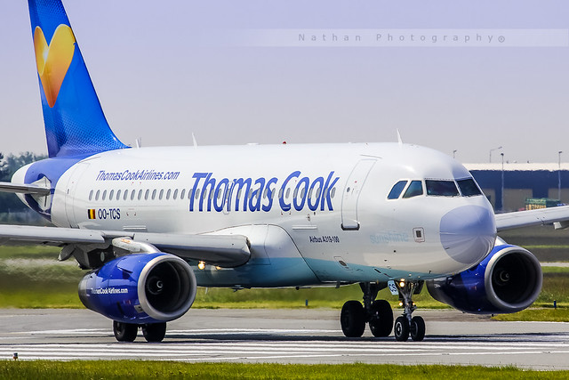 LIL - Airbus A319-132 (OO-TCS) Thomas Cook Belgium