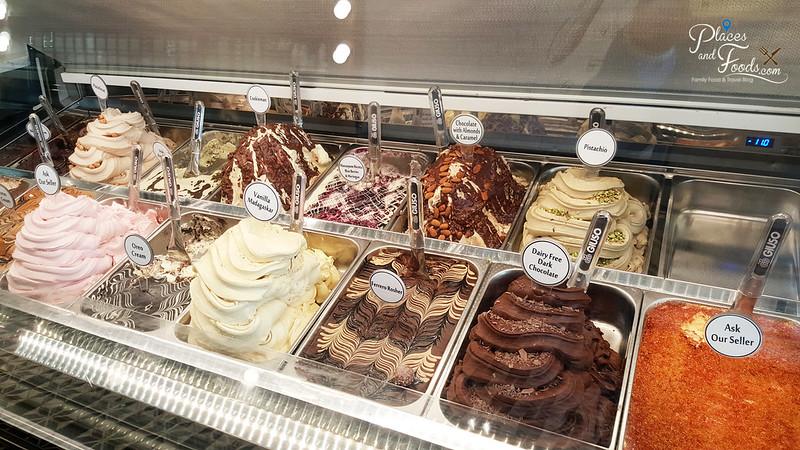 Anita La Mamma Del Gelato flavours
