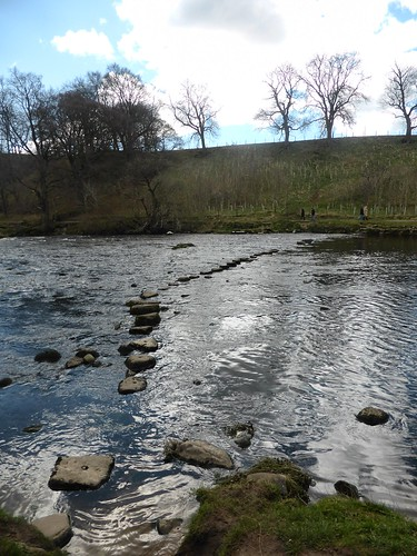 Stepping Stones - River Wharfe