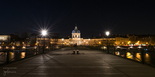 Académie des beaux-arts et Pont des Arts