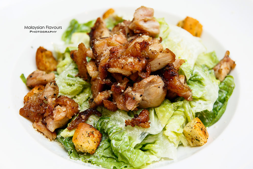 Fish & Co. Malaysia Set Lunch Menu caesar salad