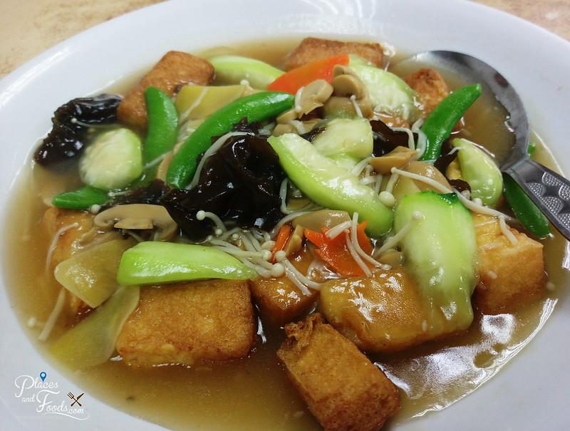restoran new hai lik sg chua kajang homemade tofu