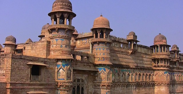 INDIEN, The fantastic Fort Gwalior, ( serie) , 13612/6578