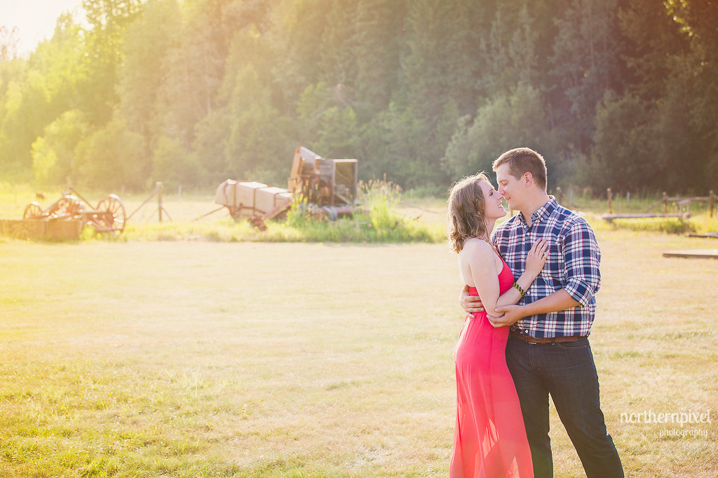Huble Homestead Engagement Session