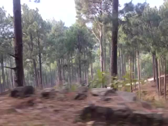 A couple, a bike & lahore to arang kel via panjpeer rocks in dec 2015 - 23782878633 6a2080f633 z