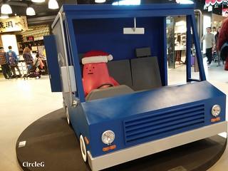 LCX 海運中心 hongkong tst 尖沙咀 STICKY MONSTER LAB 2015 CIRCLEG 聖誕裝飾 (7)