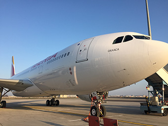Iberia A330-200 estacionado (Iberia)