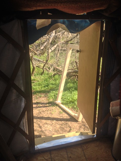 Yurt Doorframe Upgrade