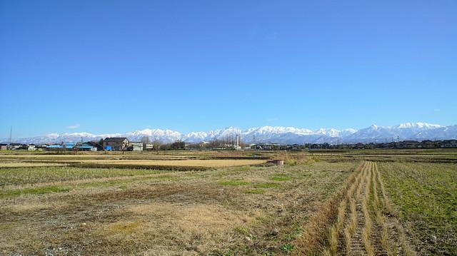 Tateyama mountain range