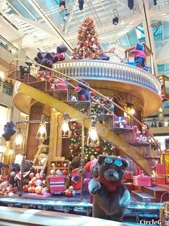 中環 置地廣場 central hongkong 熊 2015 CIRCLEG 聖誕裝飾 (5)