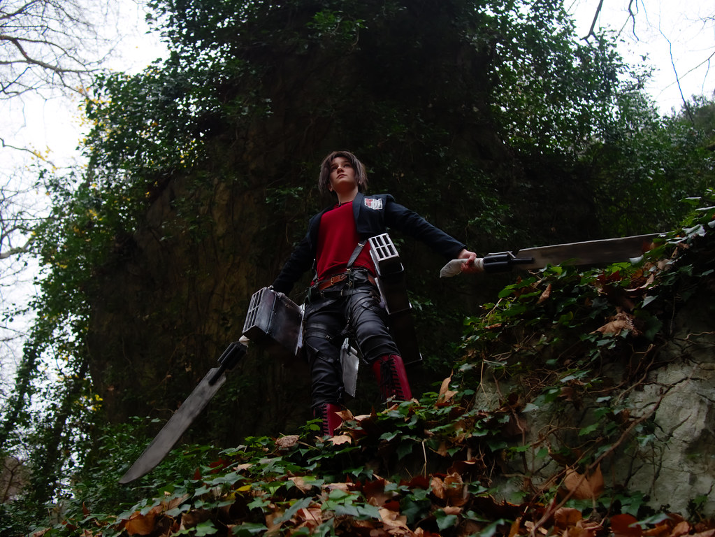 related image - Shooting Shingeki no Kyojin - Parc de Saint Pons - Gemenos - 2015-12-19- P1260343