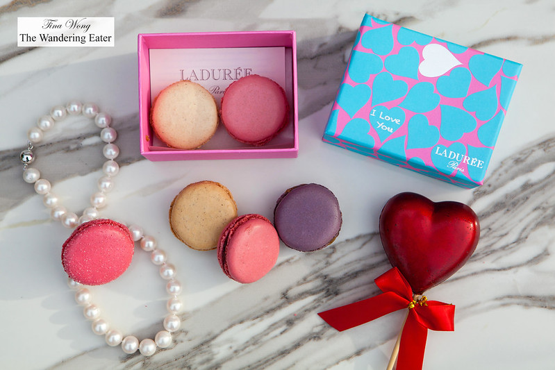 "Ladurée ""I Love You"" Macaron box"