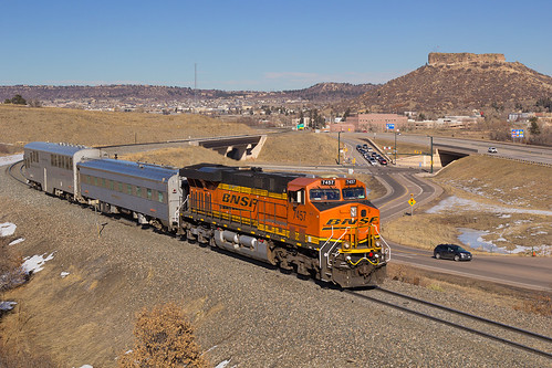 railroad train colorado ge bnsf castlerock generalelectric es44dc gevo trackmeasurement jointline trackgeometry bnsf7457