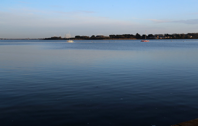 Chichester Harbour from Langstone
