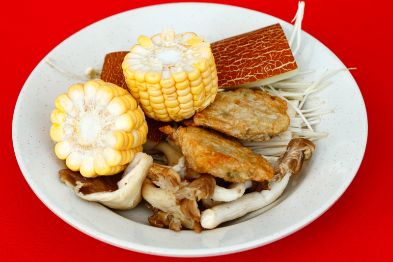 QQ BBQ Steamboat Soup Ingredients