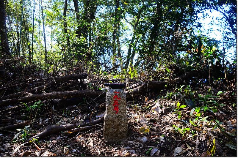 水尾子山三等三角點(#195 Elev. 578 m) 1