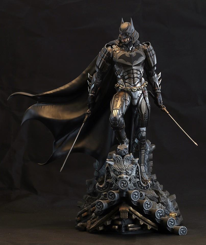 XM Studios®【武士魂:蝙蝠俠】BATMAN 1/4 比例 全身雕像