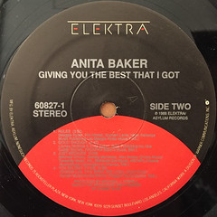 ANITA BAKER:GIVING YOU THE BEST THAT I GOT(LABEL SIDE-B)