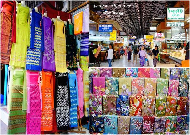 Myanmar, Yangon Bogyoke Aung San Market 02