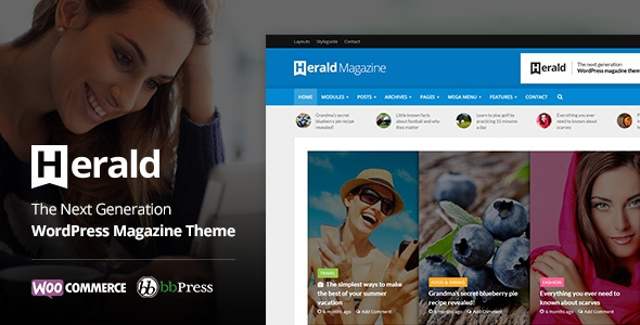 Herald v1.7 - News Portal & Magazine WordPress Theme