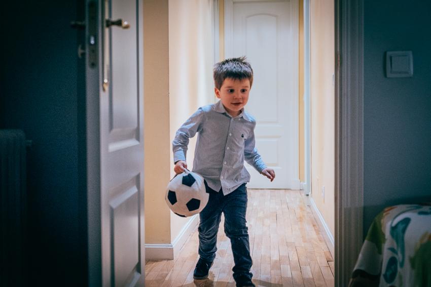 Jugando con la pelota