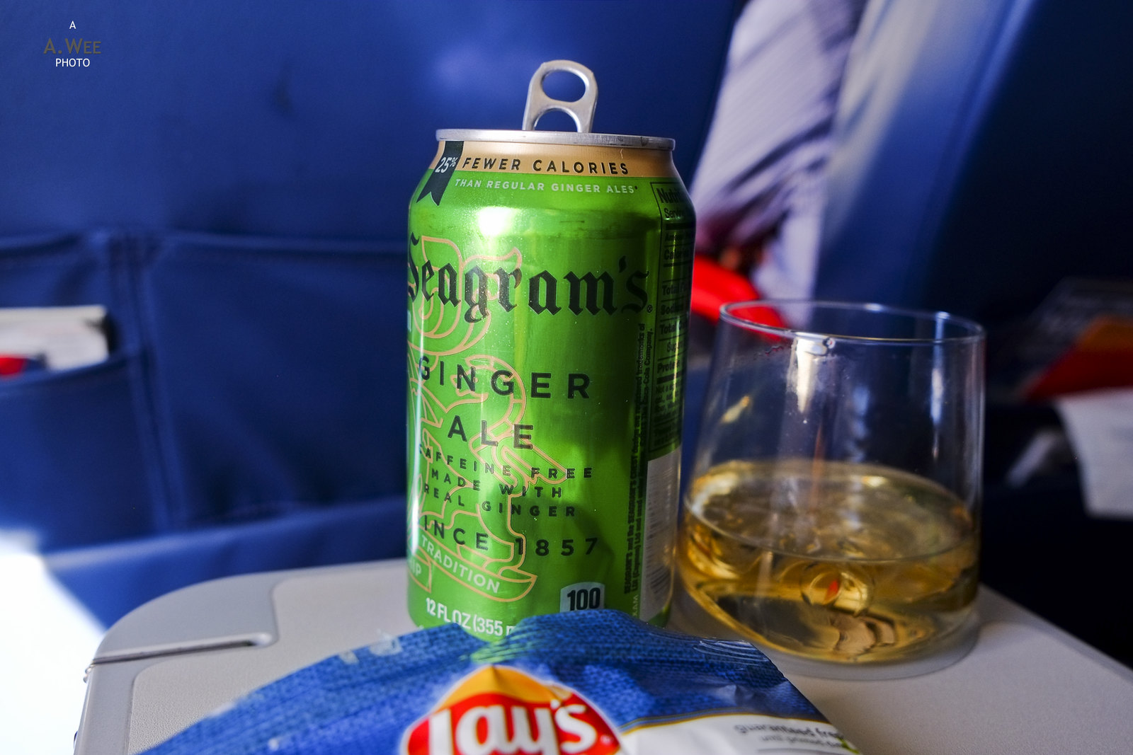 Ginger ale for inflight drink