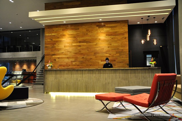Lobby Area of B Hotel Quezon City