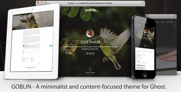ThemeForest Goblin v1.1.4 - Minimalist & Content-Focused Theme