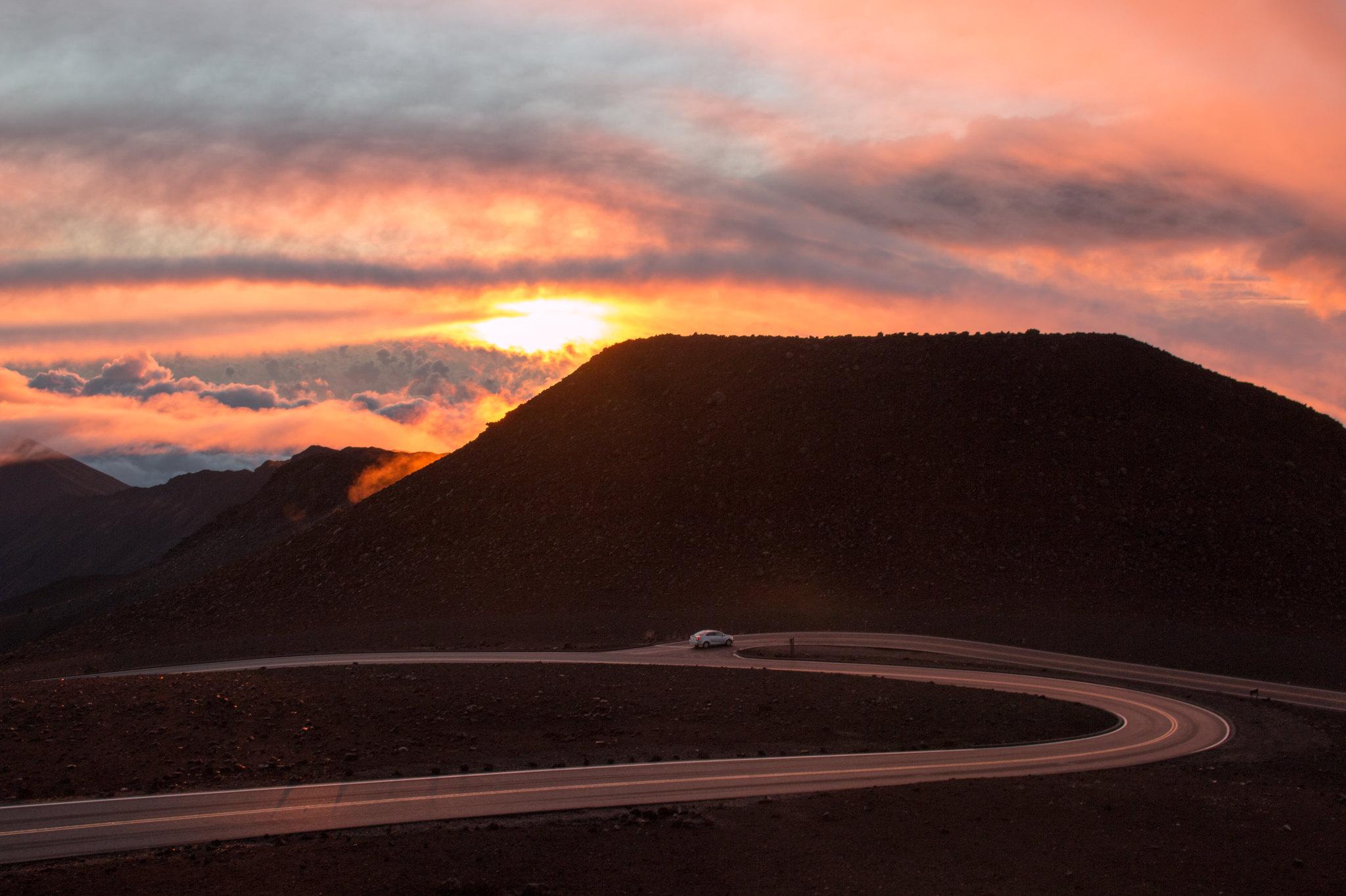 Haleakala Sun