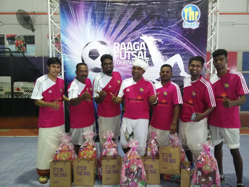 Champion - Jagat Team - Raaga Futsal