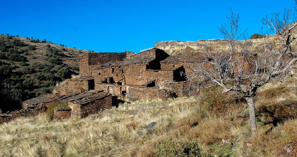 Viejos poblados en el Barrancón