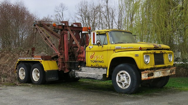 1964 Mercury Super-Duty Tow Truck Wrecker