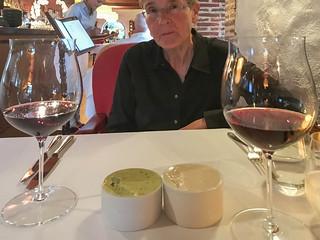 Diner im Restaurant Rust en Vrede