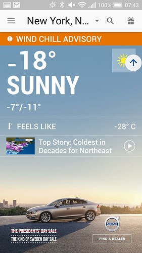 寒い寒い。