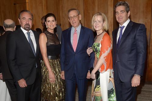 Jorge M. Pérez, Darlene Pérez, Stephen Ross, Kara Ross and Jeffrey Soffer  at PAMM Art of the Party