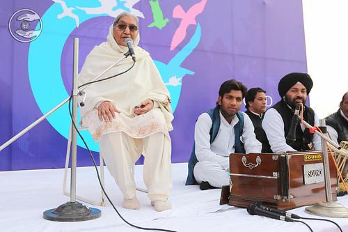 Gurbachan Kaur from Chhehartta expresses her views