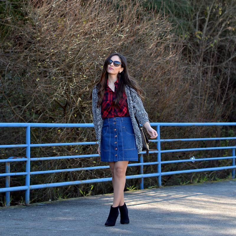 Zara_justfab_ootd_outfit_falda_vaquera_tartan_asos_01