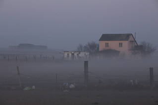 Fog rolling in over Oasis Club Hostel