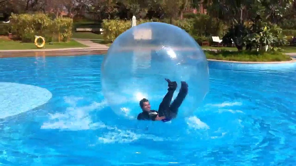 aqua zorbing goa kids parties corporate fun event from