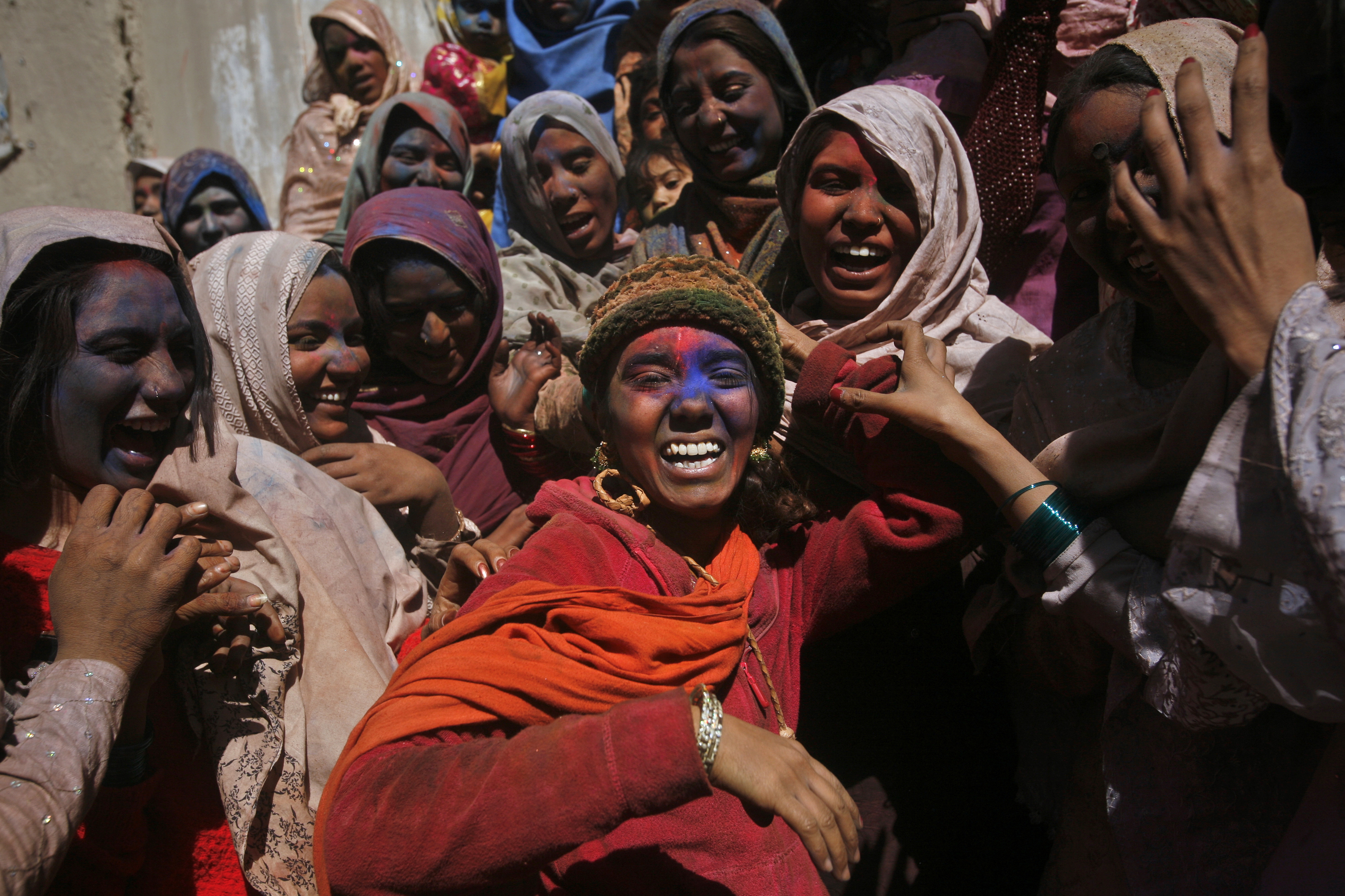 Pakistani Hindus celebrate Holi in Quetta. 'I wanted to tell these beautiful stories of minorities asserting their religious identity through festivals. Photo credit: Reuters