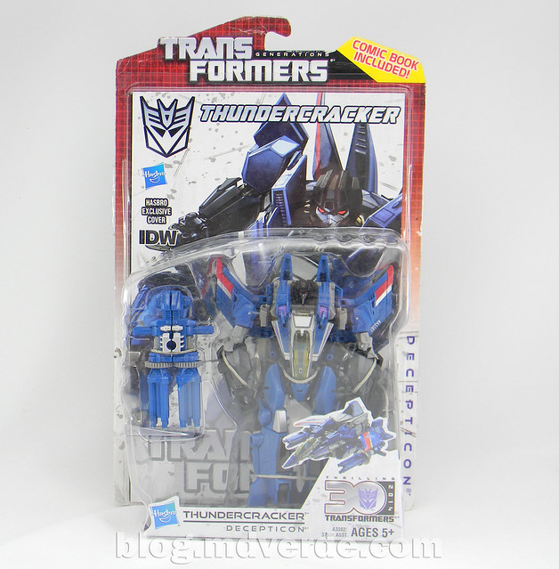 Transformers Thundercracker Deluxe - Generations - caja