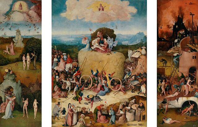 Triptychon - Der Heuwagen