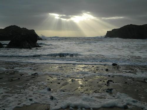 Porth Dafarch Beach